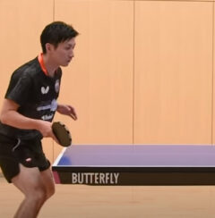 BUTTERFLY FAVORITES: Hitoshi Ueda Forehand Touch Serve Returns