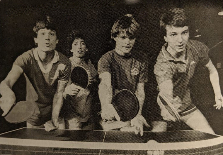 McGinty's Collegiate Table Tennis