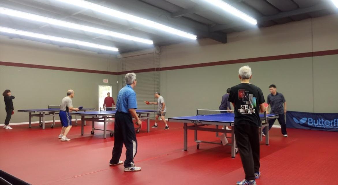Pleasanton Table Tennis Center located in Pleasanton, California