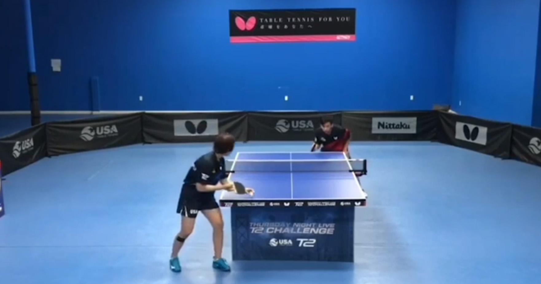 Wang Makes It 4-1 for Team Butterfly in USATT's Live Challenge Series